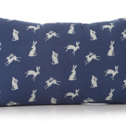 Hare Cushion Blue Back