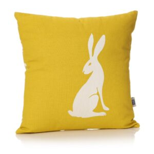 Hare Cushion Front