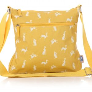 Hare Yellow Oilcloth Bag